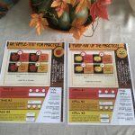 Pumpkin/apple practice sheets