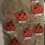 pumpkin practice display